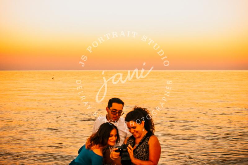 Behind the scenes with JS Portrait Studio Delray Beach